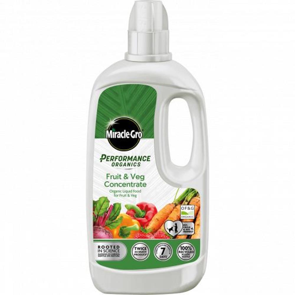 MIRACLE-GRO PERFORMANCE ORGANICS FRUIT AND VEG (1L)