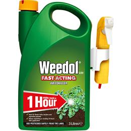 WEEDOL GUN FAST ACTING WEED KILLER 3L