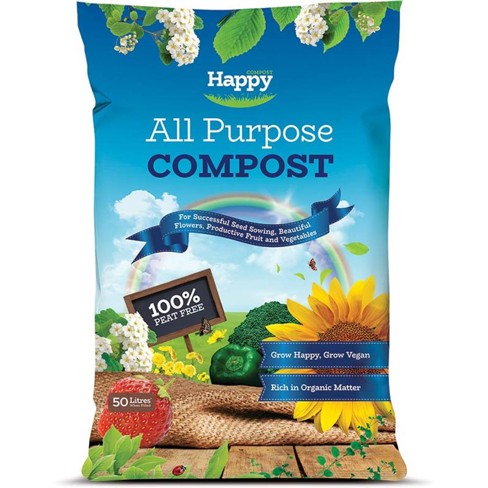 Happy Compost All Purpose 50L