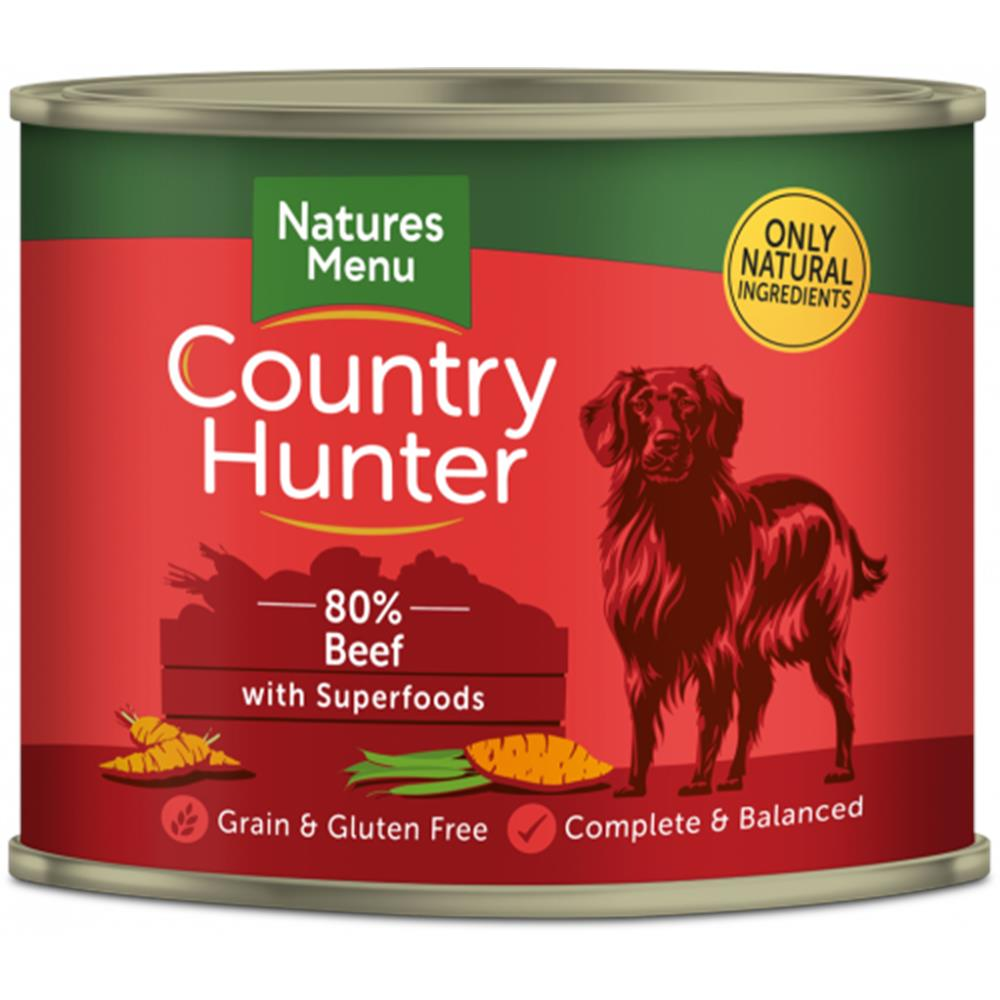 Country Hunter Dog Cans - Beef 600G