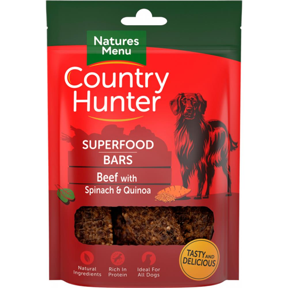 Superfood Bar Beef with Spinach & Quinoa 100G