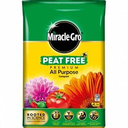MIRACLE-GRO ALL PURPOSE PEAT FREE COMPOST 40L