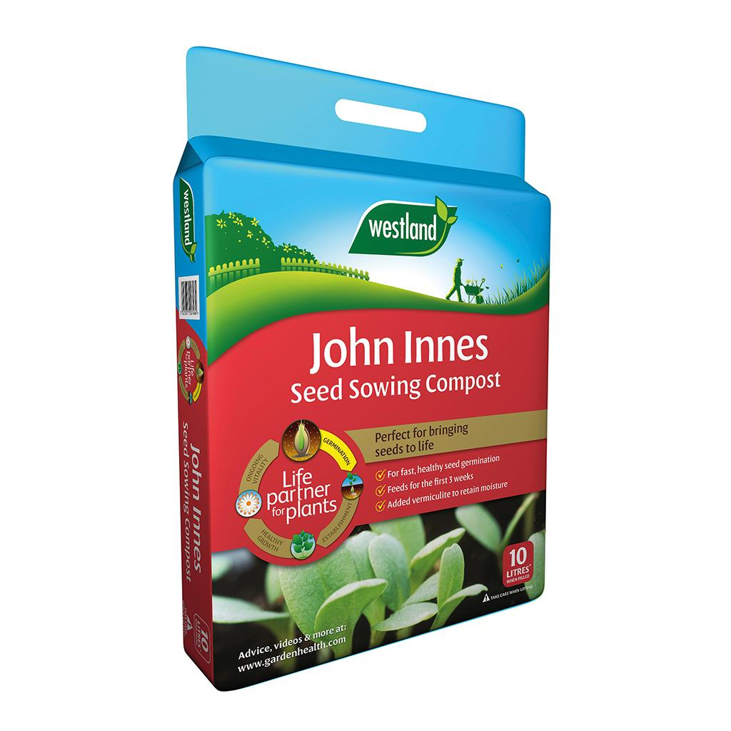 John Innes Seed Sowing Compost (Enriched With Vermiculite) 10L