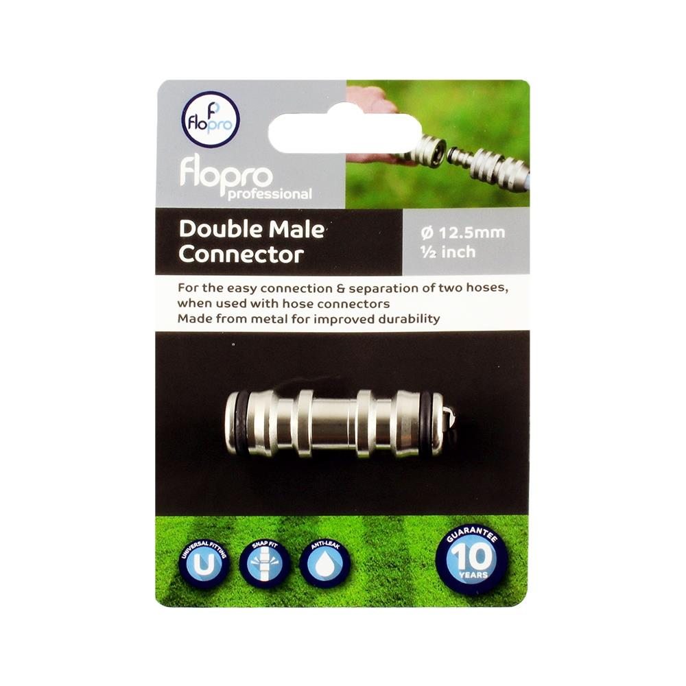 Flopro Professional Double Male Connector
