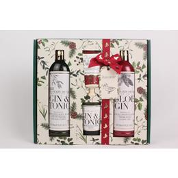 Bayliss & harding Gin & Tonic Body wash, candle, shower jel and hand crème