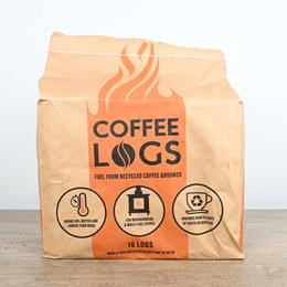 COFFEE LOGS-16 PER BAG